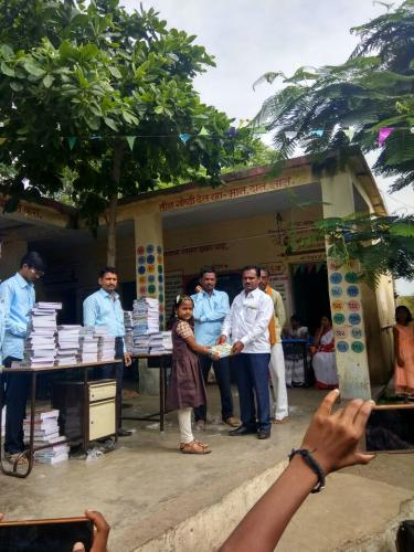 Books and Educational Material Donated to Primary School By PMK Foundation
