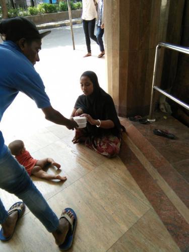 Food Distribution By PMK Foundation