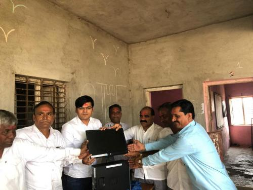 Computer Distributed to School by PMK Foundation